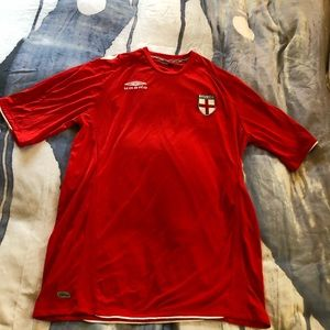 Official England National Soccer Shirt by Umbro